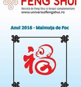 Revista Universul Feng Shui în format digital pe CD