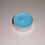 Lumânare pastilă - albastru-deschis