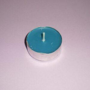 Lumânare pastilă - albastru Ocean