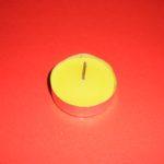 Lumânare pastilă - galbenă