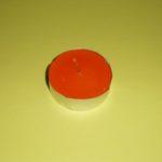 Lumânare pastilă – portocalie