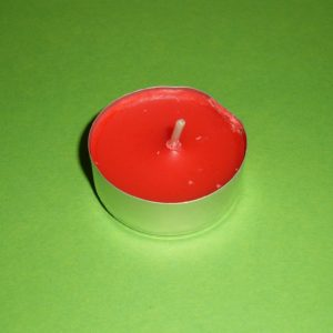 Lumânare pastilă – roșie