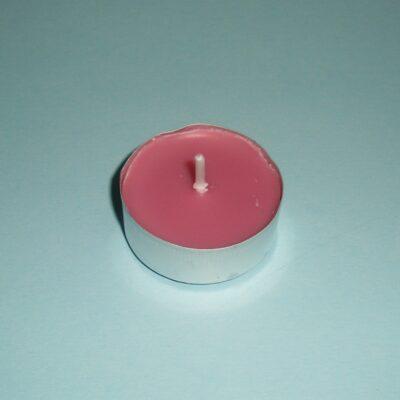 Lumânare pastilă – roz închis