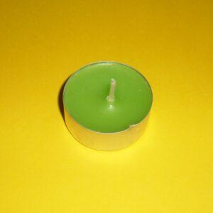 Lumânare pastilă – verde natur