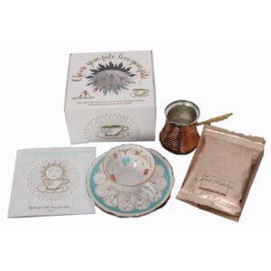 Kit de ghicit în cafea și ceai - versiunea orientală - limba romana