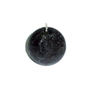 Lumânare sferă neagră - 5 cm