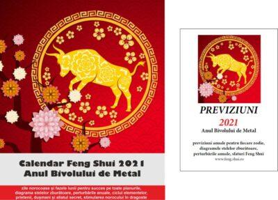 Set - Previziuni 2021 și Calendar Feng Shui 2021 în limba română