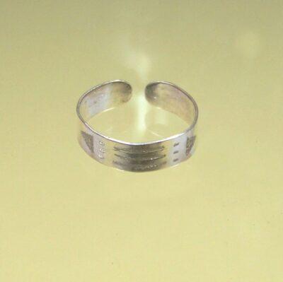Inel Luxor / Atlantida din argint, reglabil, îngust