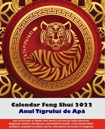 Calendar Feng Shui 2022 în limba română