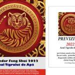 Set 2022 - Calendar Feng Shui si previziuni in limba romana